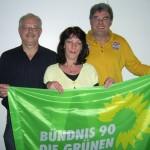 Die Kandidaten für Boos: Herbert Schmitt, Elisabeth Müller, Frank Karl-Heinz Müllers (v.l.)