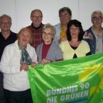Liste Vordereifel: Herbert Schmitt, Ruth Rebell, Martin Schmitt, Heide Schmitt, Frank Müllers, Elisabeth Müller, Bernd Traud (v.l.)