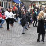 Tanzen gegen Gewalt gegen Frauen